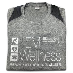 Mens LONG Sleeve Wellness T-shirt LARGE