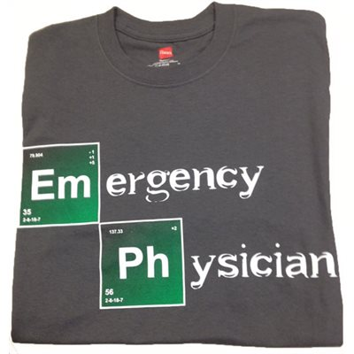 Emergency Physician T-Shirt -Xlarge