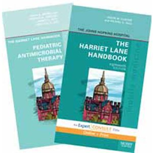 Harriet Lane Handbook, 18th Ed., Online & Print, and Pediatric Antimicrobial Therapy Package (AMAZON)