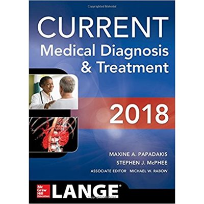 Current Medical Diagnosis and Treatment 2018 (AMAZON)