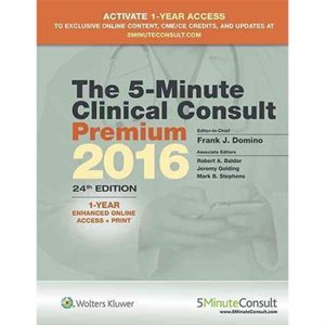 5-Minute Clinical Consult Premium 2016 (AMAZON)