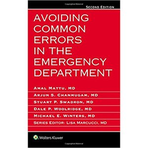 Avoiding Common Errors in the Emergency Department, 2E (AMAZON)