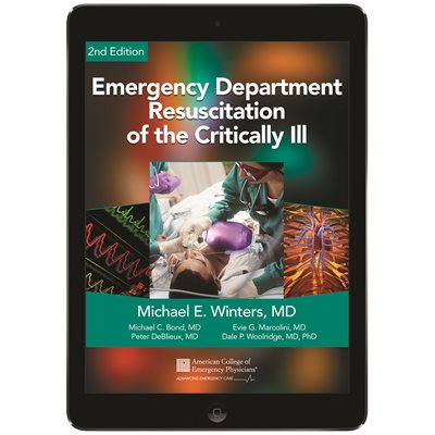 Emergency Department Resuscitation of the Critically Ill eBook