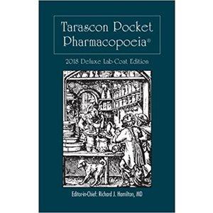 Tarascon Pocket Pharmacopoeia 2018 Deluxe Lab Coat Ed. (AMAZON)