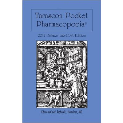 Tarascon Pocket Pharmacopoeia 2017 Deluxe (Lab Coat Ed.) 18th Ed. AMAZON
