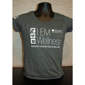 "Ladies ""Wellness"" V-Neck T-Shirt"