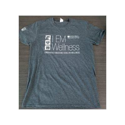 Mens Short Sleeve Wellness T-shirt- LARGE
