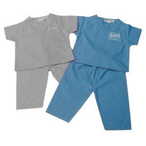 "EMRA ""Future Member"" Baby Scrubs - Blue"